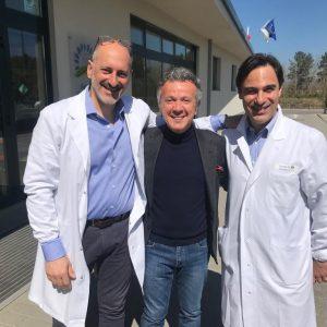 Arezzo Domenica del Cuore - Prof. Massetti, Pupo e Dott. Colizzi
