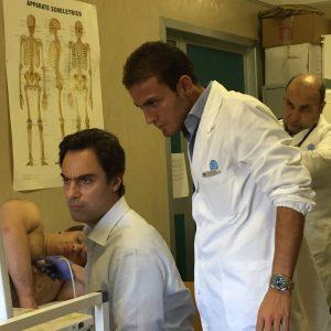 Domenica del Cuore - Dott. Colizzi e Dottori visitano un paziente