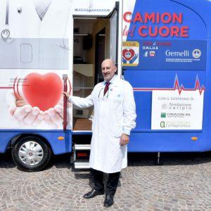 Inaugurazione del Camion del Cuore - Prof. Massetti