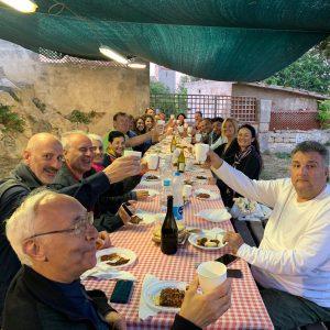 Isola di Pianosa (Toscana) Domenica del Cuore - Pranzo della squadra