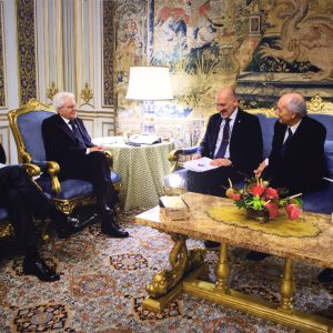 Presentazione dei Progetti con il Presidente Mattarella