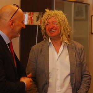 Prof. Masseti con il Maestro Maurizio Mastrini (1)