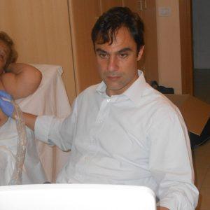 Sospe 2° Domenica del Cuore - Dott. Colizzi visita un paziente