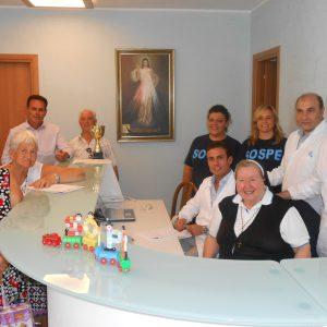 Sospe 2° Domenice del Cuore 2014 - Suor Paola con la squadra